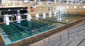 Natatorium swimming pool at Hummer Sports Park